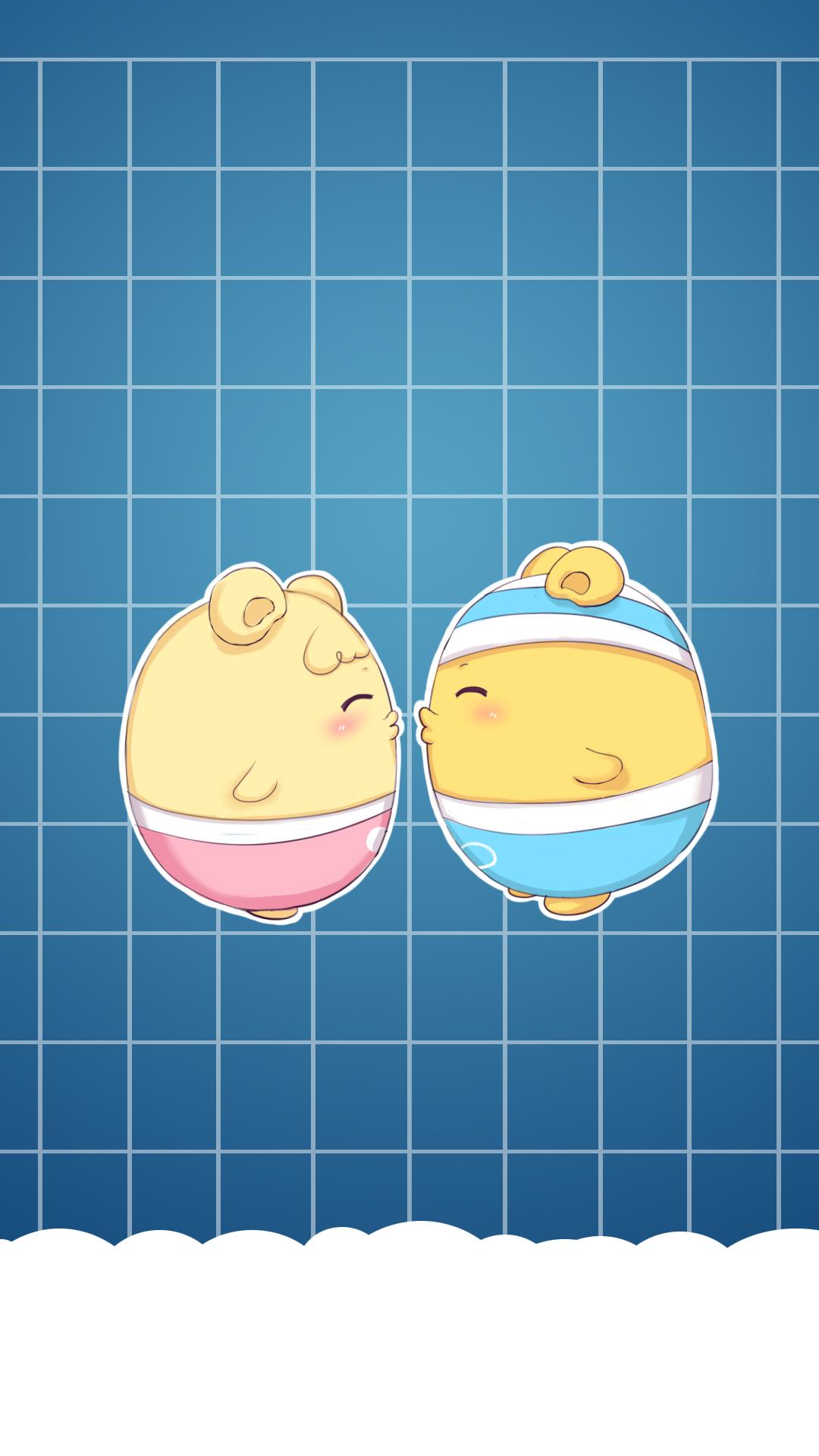 早安蛋蛋可爱壁纸